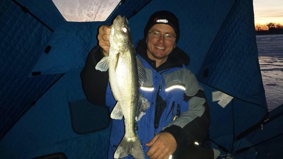 Back home from the iowa great lakes kevan paul 39 s guide for Iowa fishing lakes