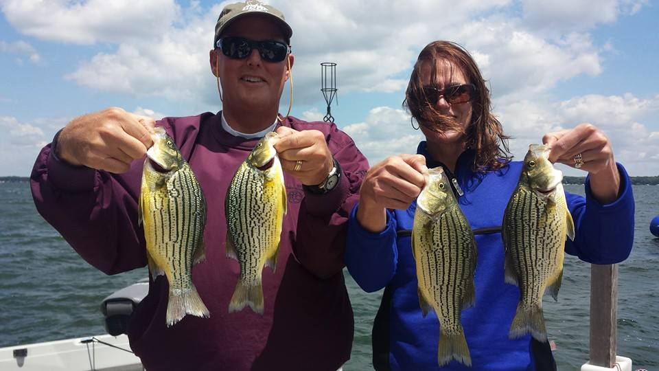 Mid july fishing report kevan paul 39 s guide service for Clear lake iowa fishing